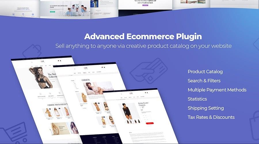 MotoCMS Startup Bundle ecommerce image