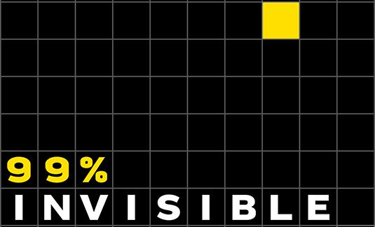 Podcasty o web design: 99% Invisible