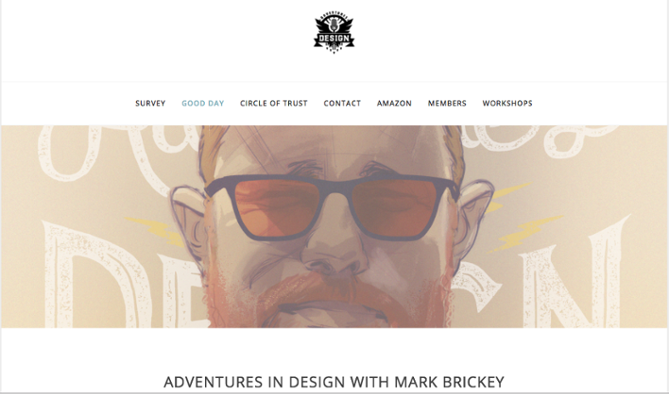 Podcasty o web design: Adventures in design