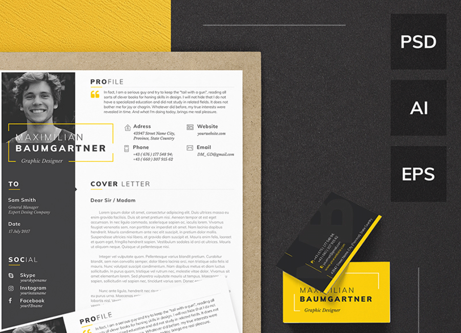 Top 15 Printable Resume Templates Adviced By TemplateMonster CEO