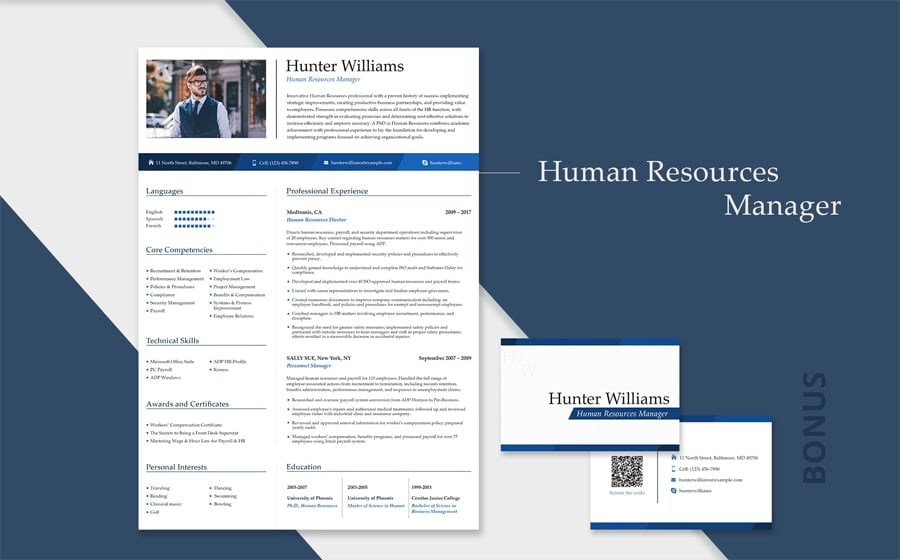 Most Appealing Resume Template