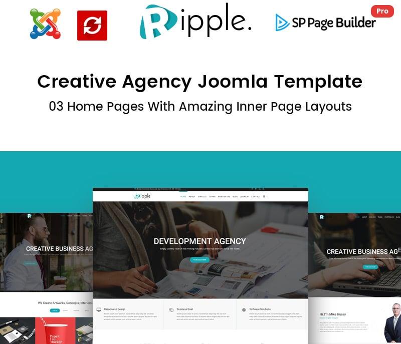 Creative Agency Joomla Template