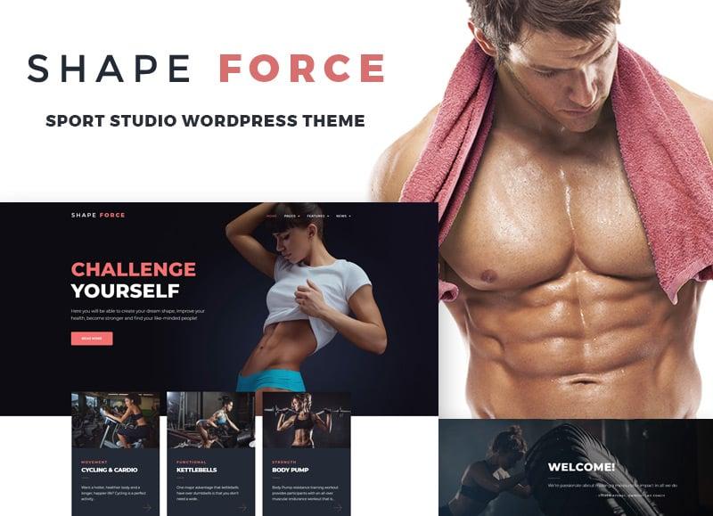 Sport Studio WordPress Theme