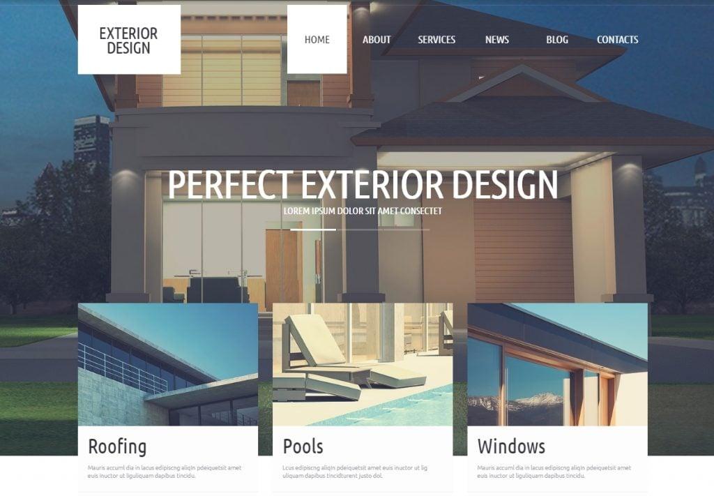 Refined Exterior Design