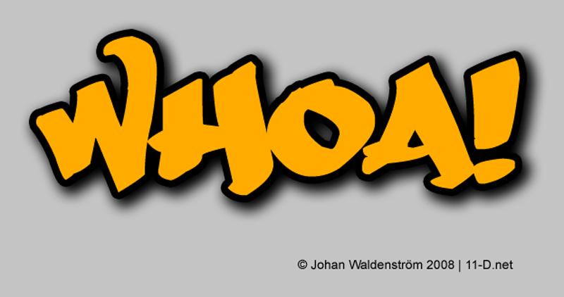 Whoa! by Johan Waldenström