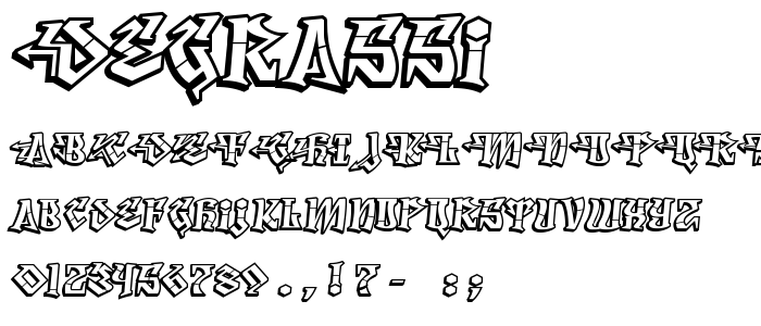 Degrassi by Typodermic Fonts