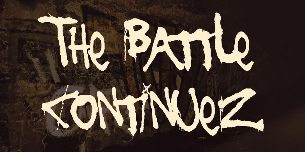 The Battle Continuez by Chris Hanzen