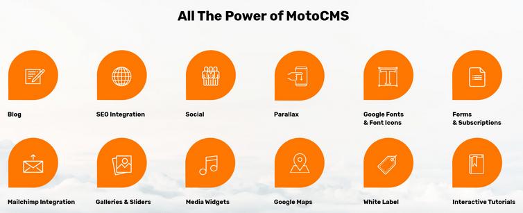 Skyline Moto CMS