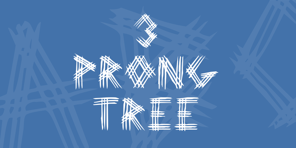 3 Prong Tree by Unauthorised Type