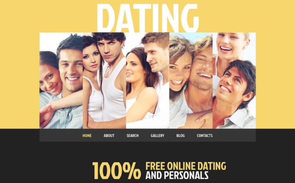 Yellow Dating Theme