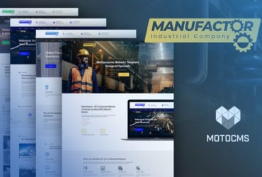 Industrial Website Templates: Top 10 Designs for Factories and Craft Shops