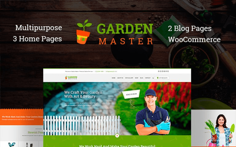 Exterior Design WordPress Themes