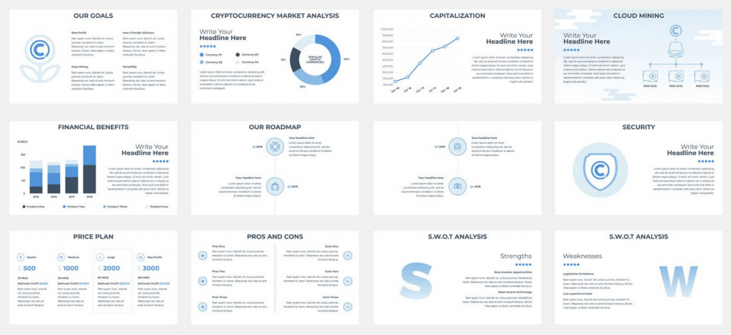 Impress investors with your great pitch deck eb powerpoint template toneelgroepblik Gallery