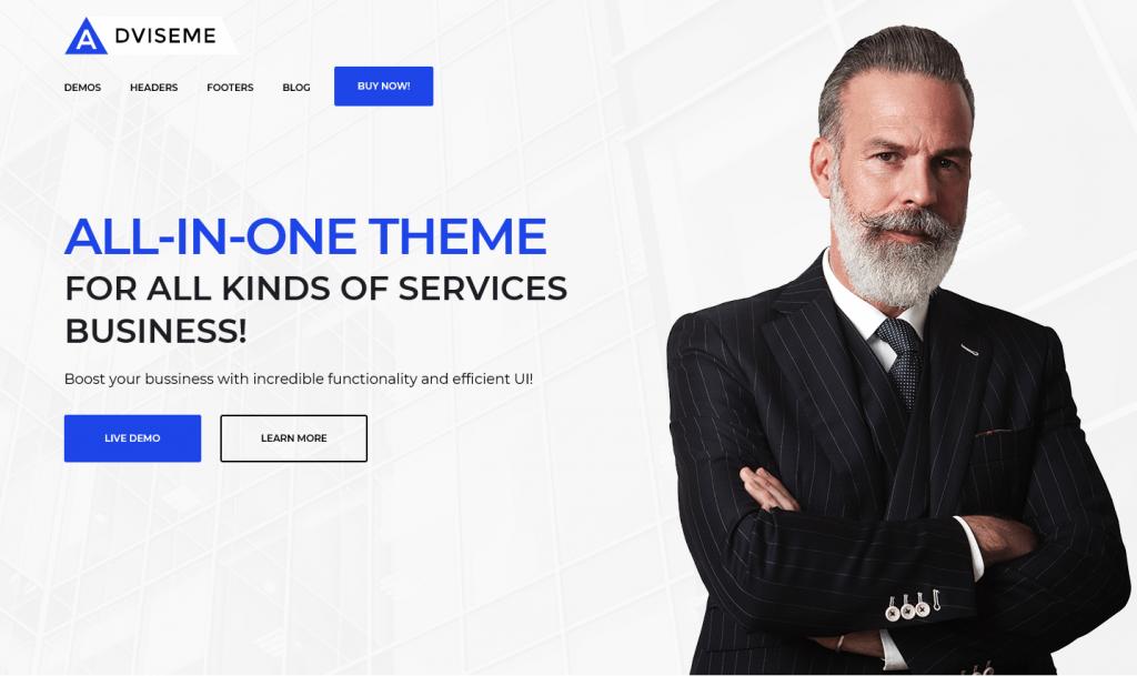 Adviseme - Business Advisor WordPress Theme