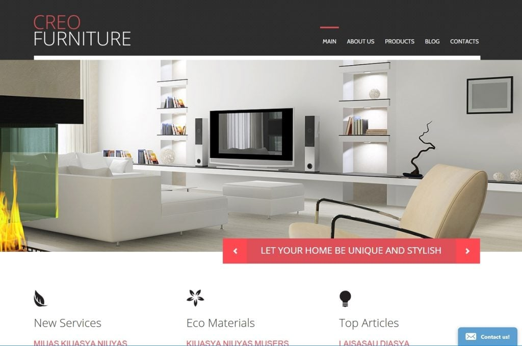 TOP 25+ Latest Furniture WordPress Templates For Stunning Interior ...