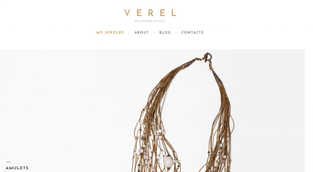 Verel - Handmade Jewelry WordPress Theme
