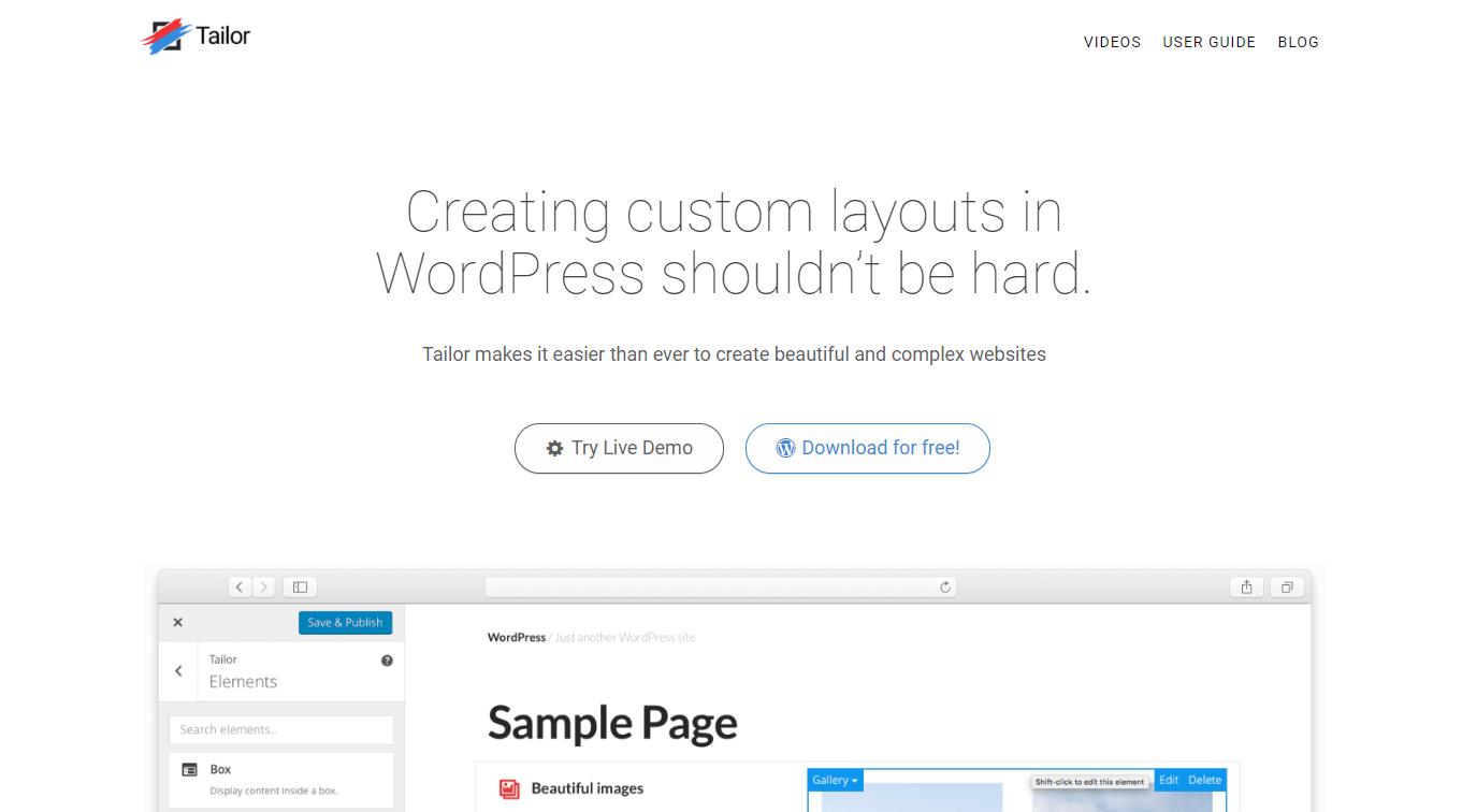 drag and drop wordpress theme