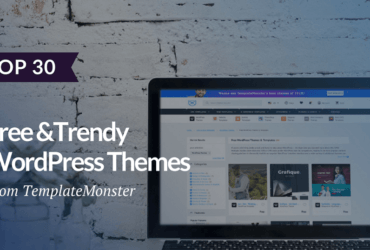 30 Free WordPress Themes from TemplateMonster Digital Marketplace