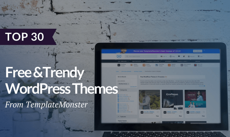 30 Free WordPress Themes for Blogs and Business Sites