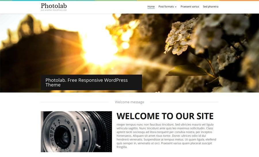 Stock Photo Responsive WordPress Theme
