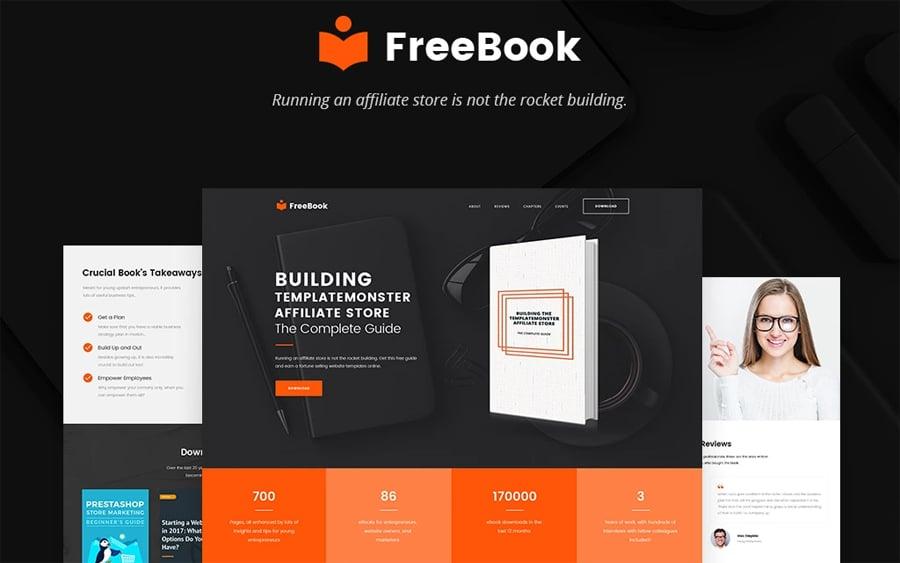 Free One-Page WordPress Theme