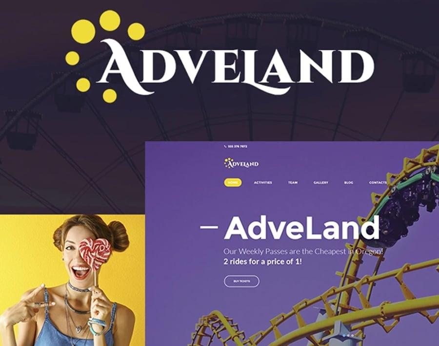Amusement Park Free WP Theme