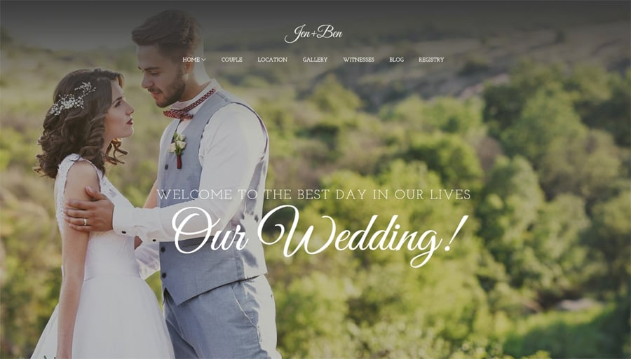 Wedding Planner Free WP Theme
