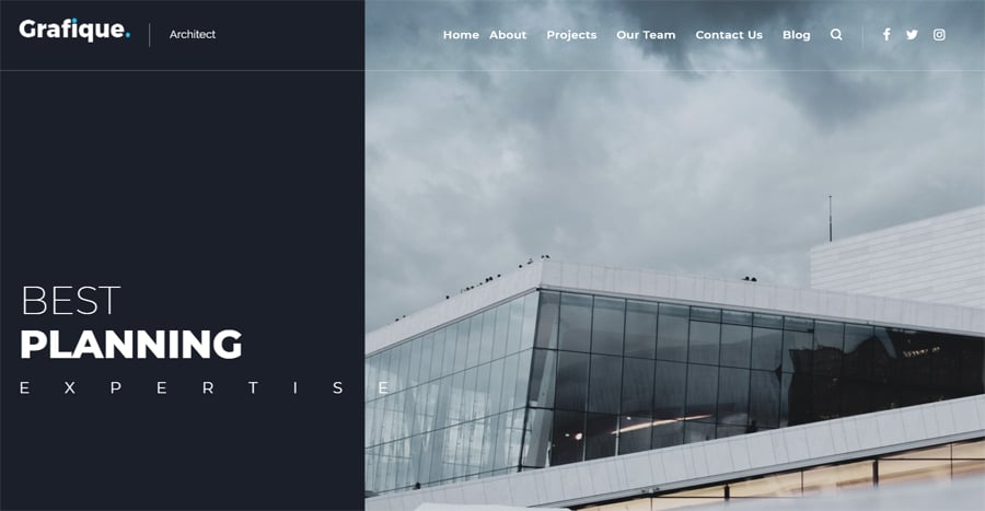 Architect Lite Free WP Theme