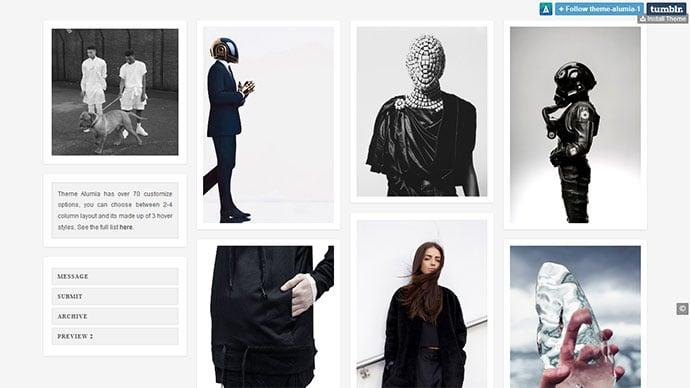 8ecf0baa49ce 101 Free Tumblr Themes to Jump on Stylish Blog Appearance