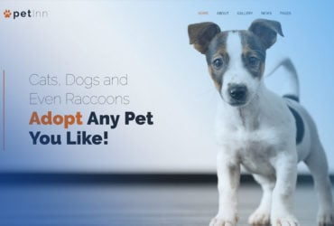 PetInn Animal Shelter Free WordPress Theme