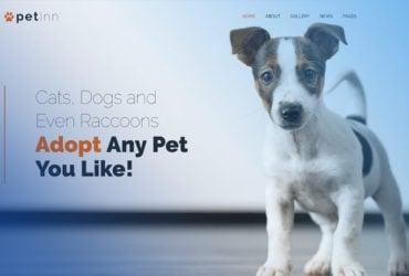 PetInn Animal Shelter Free WordPress Theme