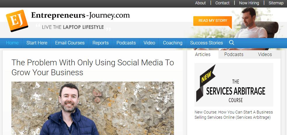 Entrepreneurs-Journey.com - Yaro Starak