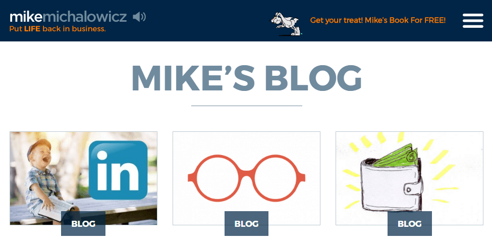 Entrepreneurship – Mike Michalowicz