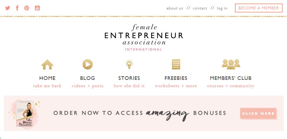 Female Entrepreneur Association