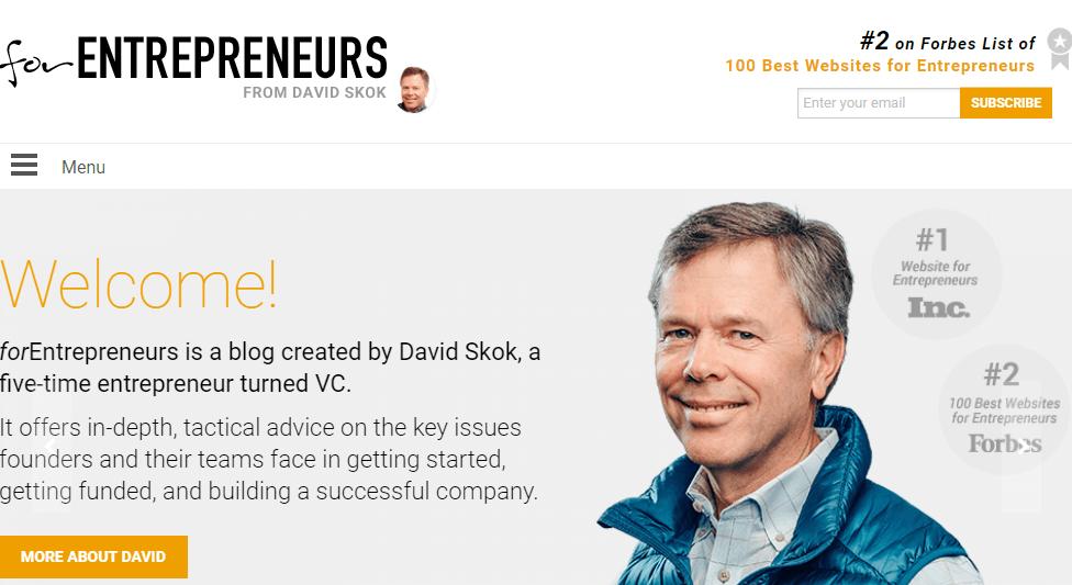 For Entrepreneurs