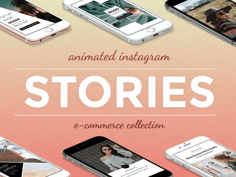 Animated Instagram Story Templates