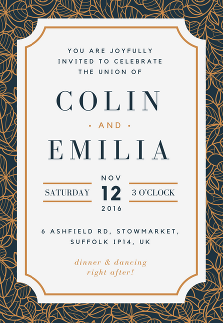 Fabulous free wedding invitation templates canva is another good place to look for your perfect wedding invitation template design here you can find a lot of great examples in a variety of styles stopboris Choice Image