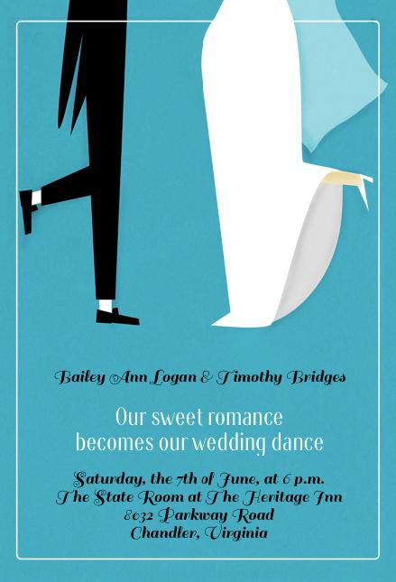 free wedding card
