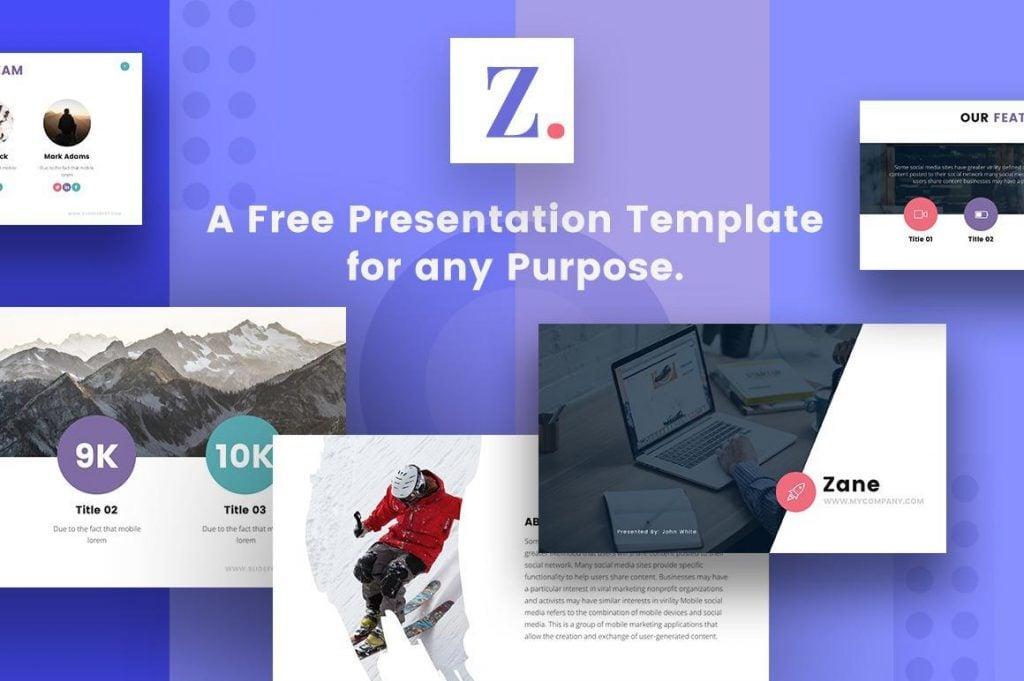 Zane Free Keynote