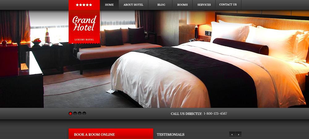 Cherry Hotels WordPress Theme