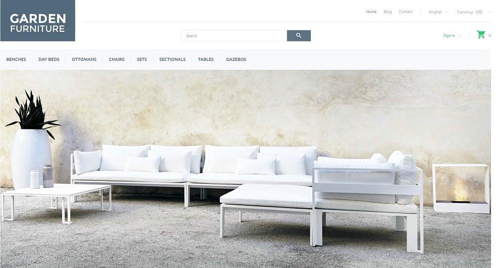 Garden Furniture PrestaShop Theme