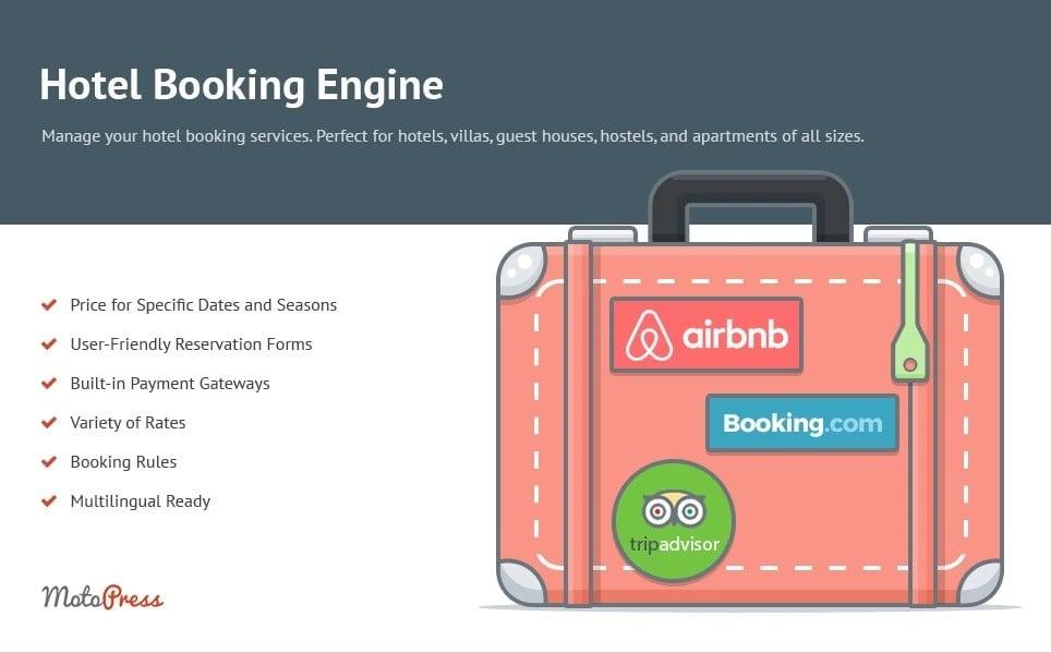 Hotel Booking Engine WordPress Plugin