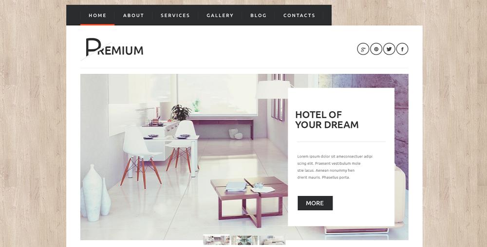Hotels Booking Agency WordPress Theme