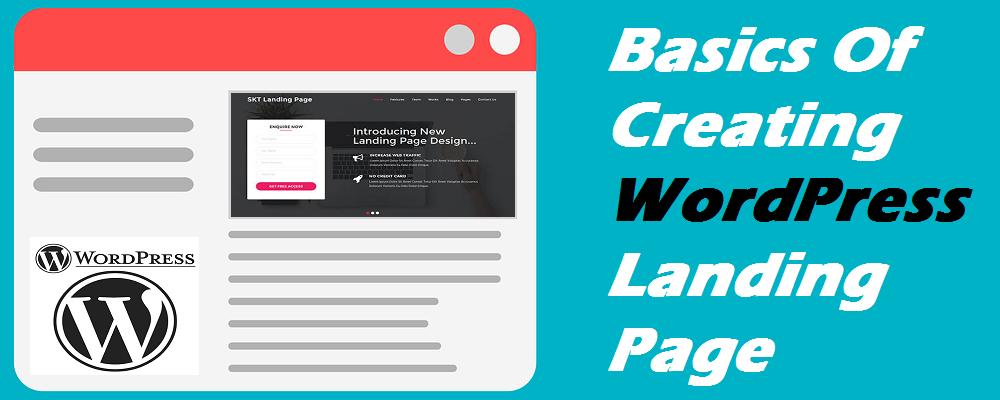 WordPress Landing