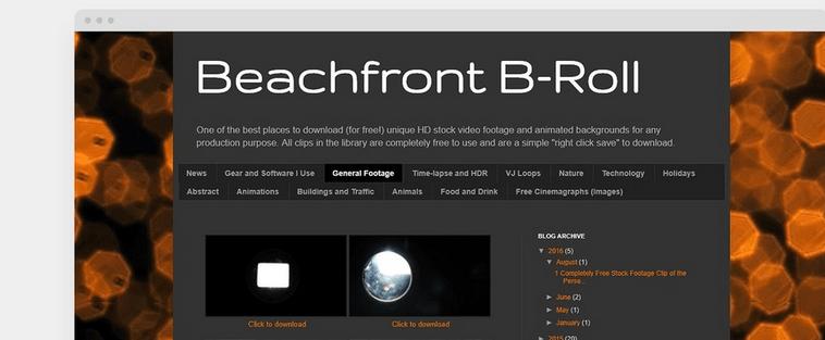 Beachfront B-Roll
