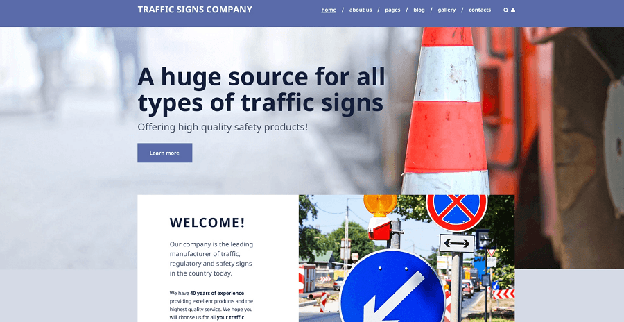 Traffic Signs Company