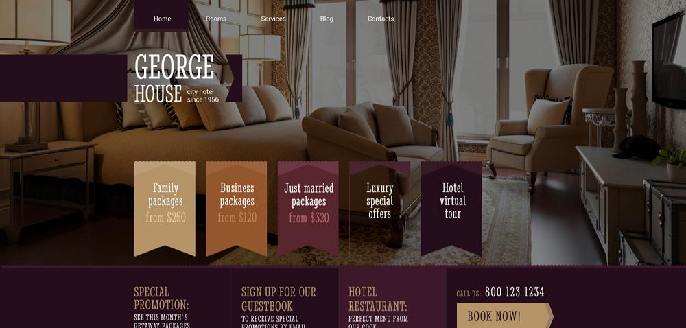 Motel Responsive WordPress Theme