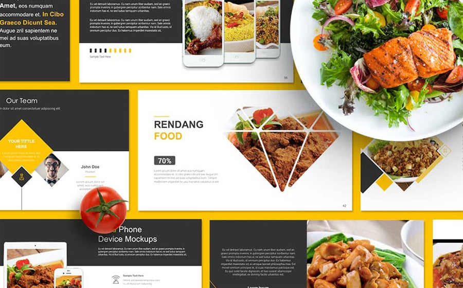 Professional Business Presentation Templates To Use In - Best of powerpoint food themes scheme