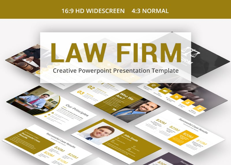 100 professional business presentation templates to use in 2018 law firm is one of those business presentation templates that feature neutral and well balanced visual presentation that will keep the viewers focused on accmission Images