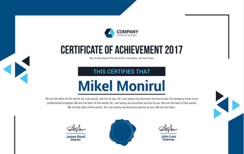 50 Multipurpose Certificate Templates and Award Designs ...